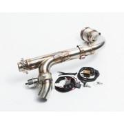 Спортивная приемная труба Agency Power для BRP Maverick x3