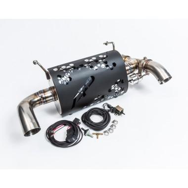 Выхлопная система Agency Power с изменяемым звуком для Polaris RZR XP Turbo