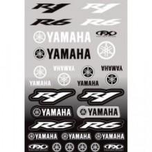 Комплект наклеек Factory Effex Yamaha moto