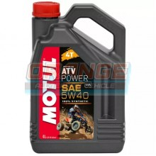 Масло моторное Motul ATV Power 4t 5W40 4 литра