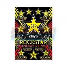 Комплект наклеек Factory Effex Rockstar