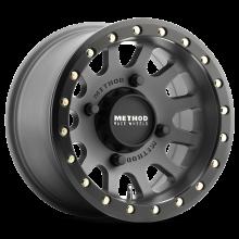 """Диск с бэдлоком Method Race Wheels MR401 R14 7"""" 4x156 5+2 132mm MATT TITAN для Polaris"""