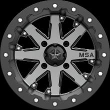 Диск колесный с бедлоком MSA M21 LOK Charcoal Tint, R15x7, 4x137 M21-05737