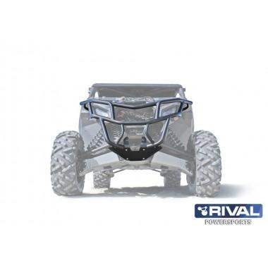 Бампер передний под лебедку Rival для BRp Maverick x3