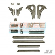 Комплект усиления рамы S3powersports для BRP Maverick x3 вварной