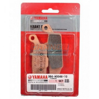 Колодки тормозные задние левые оригинальные Yamaha Grizzly 3B4-W0046-10-00